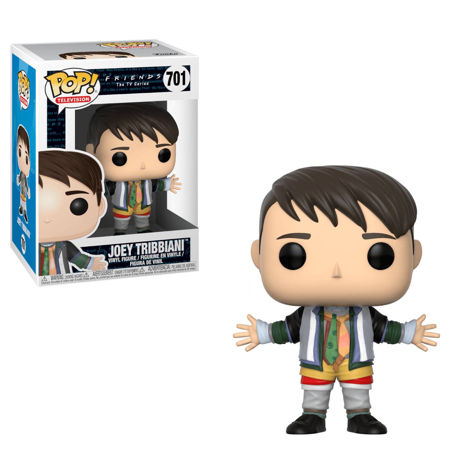 Funko Pop! Joey dans les Habits de Chandler