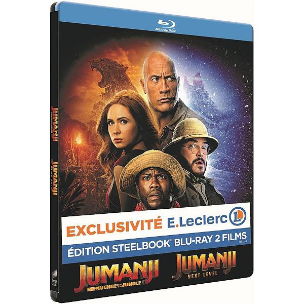 Jumanji-1-et-2-steelbook-édition-spéciale-Leclerc