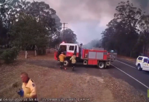 L'instinct de survie des pompiers Australiens