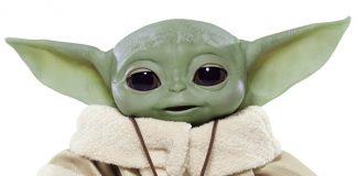 Peluche-animatronique-taille-réelle-de-Baby-Yoda-dans-The-Mandalorian