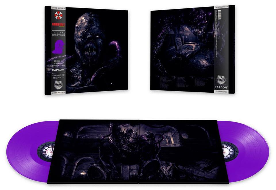 Resident-Evil-3-Nemesis-Bande-originale-édition-limitée-deluxe-vinyle
