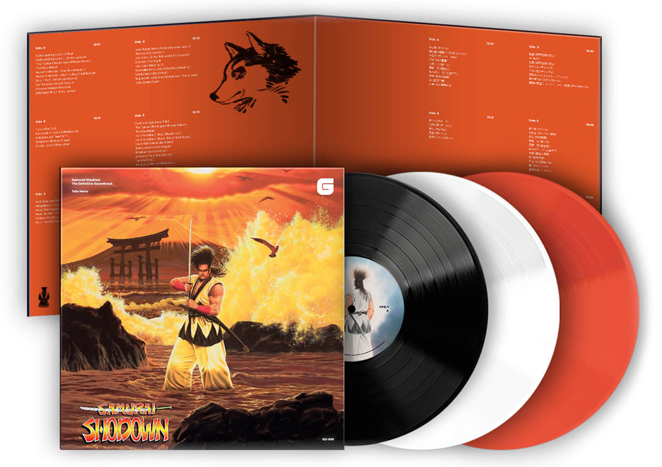 Samurai-Shodown-The-Definitive-Soundtrack-bande-originale-vinyle-édition-limitée