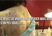 Tatouages quelles sont les zones du corps qui font le moins mal
