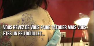 Tatouages quelles sont les zones du corps qui font le moins mal