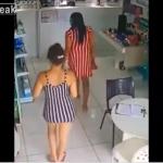 Une voleuse cache son butin dans un drôle d'endroit