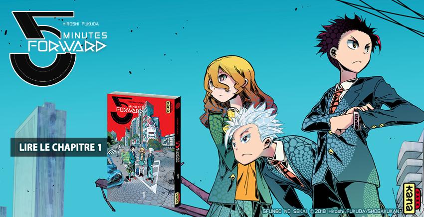 Préview manga – 5 MINUTES FORWARD chez Kana