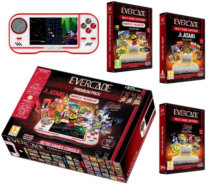 Atari-evercade-Namco-museum-retro-game-console-pack-premium