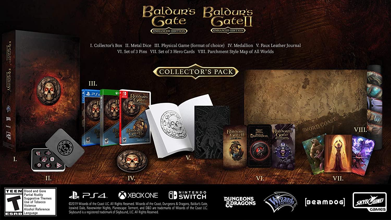Edition collector de Baldur's Gate 1&2 Enhanced (PROMO)