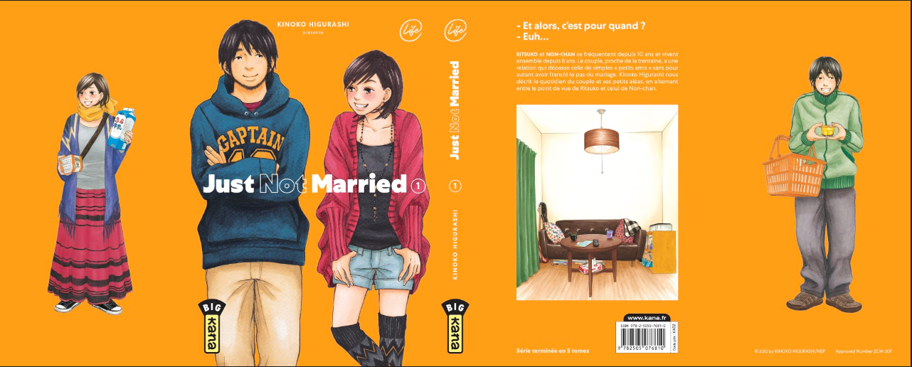 Just Not Married couverture