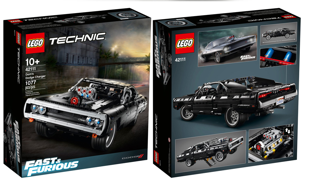 Lego Fast & Furious - Lego Technic 42111 Dom's Dodge Charger