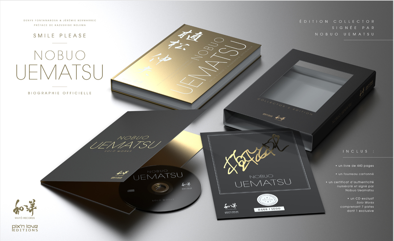 Nobuo Uematsu Smile Please – la biographie officielle