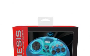 Official Bluetooth Sega Genesis Controller From Retro-Bit