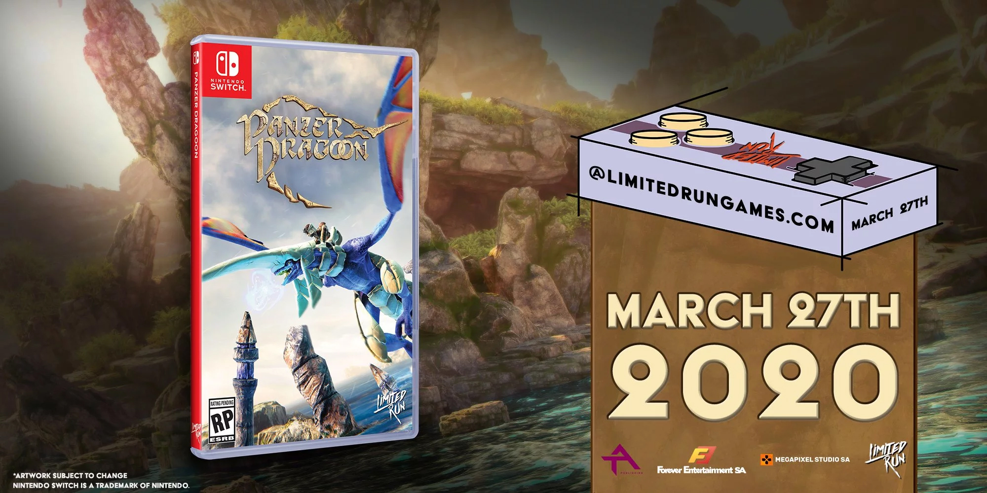 Panzer Dragoon - Edition limitée Switch Limited Run Games