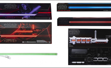 Sabre Laser Collector de la collection Black Series Hasbro
