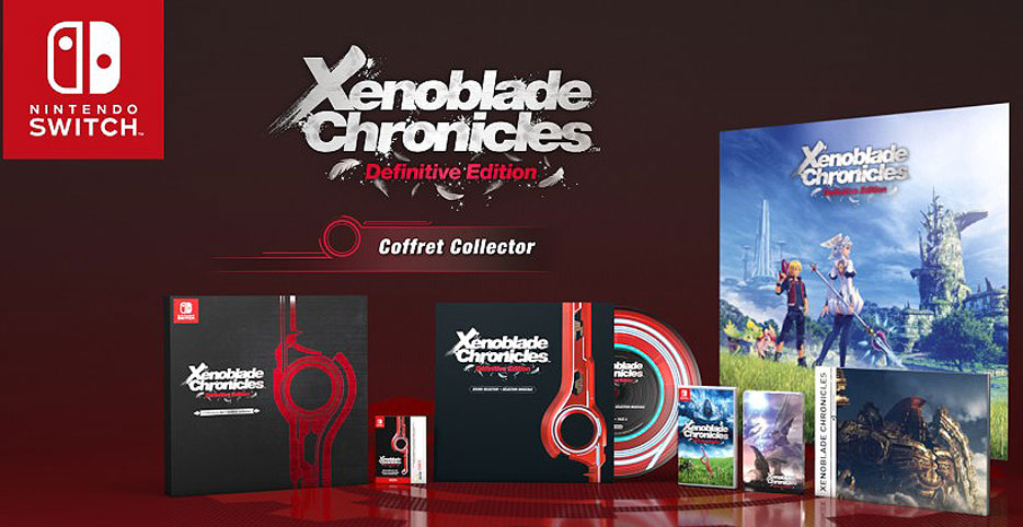 Definitive Edition de Xenoblade chronicles sur Nintendo Switch (Coffret collector)