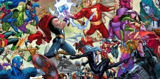 crossover Marvel DC