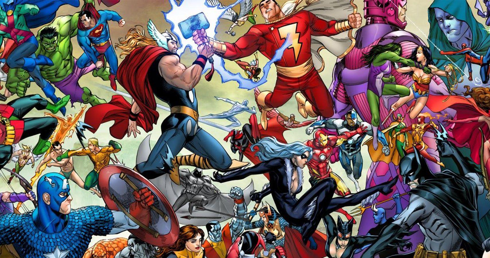 Le monde du comics appelle à un crossover Marvel / DC pour sauver l'industrie !