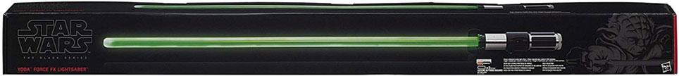 """Le sabre Laser de """"Yoda"""" Star Wars Black Series Force FX, ici sur Amazon à 617 €"""