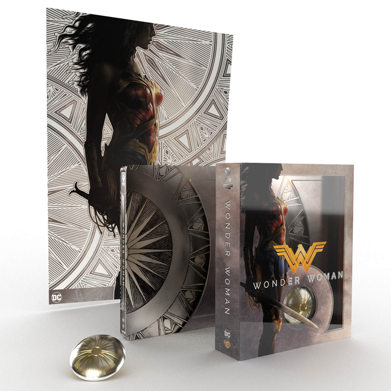 Wonder Woman – Steelbook Titans of Cult