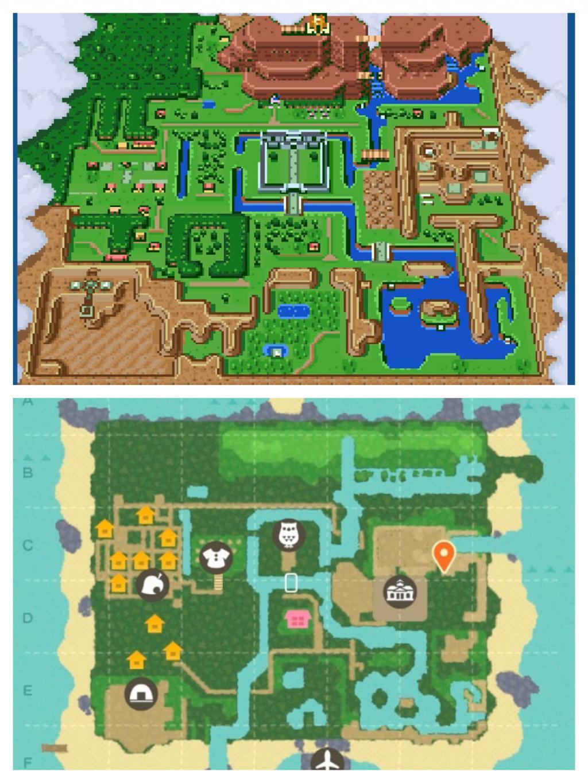 Carte The Legend of Zelda Link To The Past