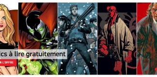 Delcourt, vous propose 26 comics gratuits au format numérique