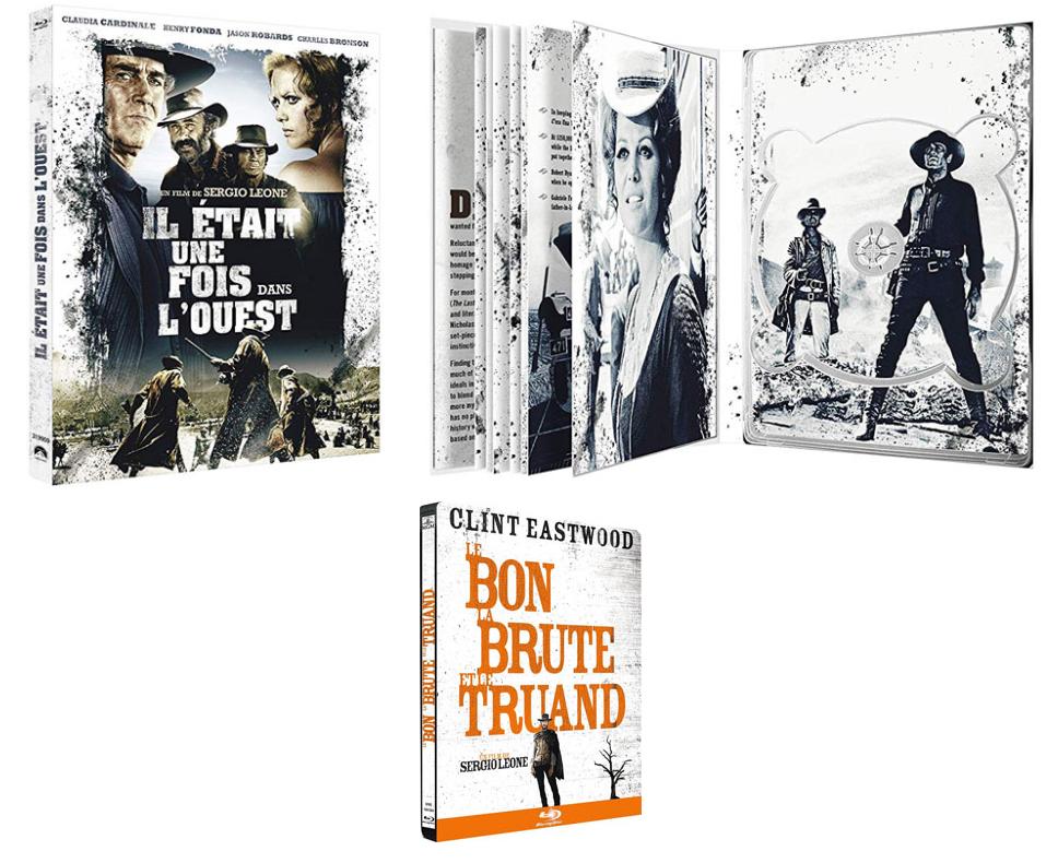 Il était une fois dans l'ouest Edition collector Blu-ray et DVD et vinyle