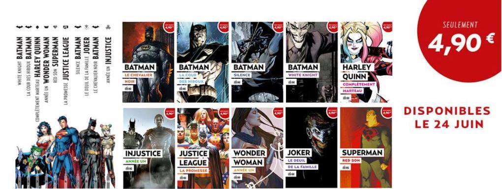 Urban Comics, annonces 10 titres incontournables