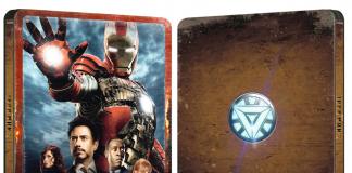 Iron Man 2 – Steelbook blu-ray 4K ultra HD