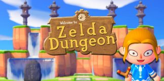 ZELDA DUNGEON in Animal Crossing New Horizons