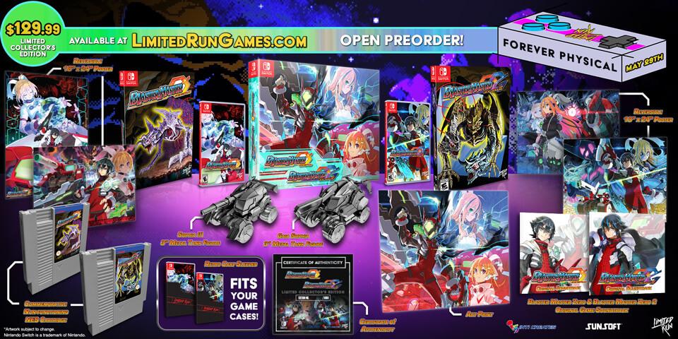 Blaster-Master-Zero-1-2-édition-collector-Limited-Run-Games