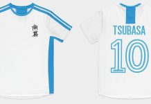 Captain-Tsubasa-Olive-et-Tom-Maillot-de-Foot