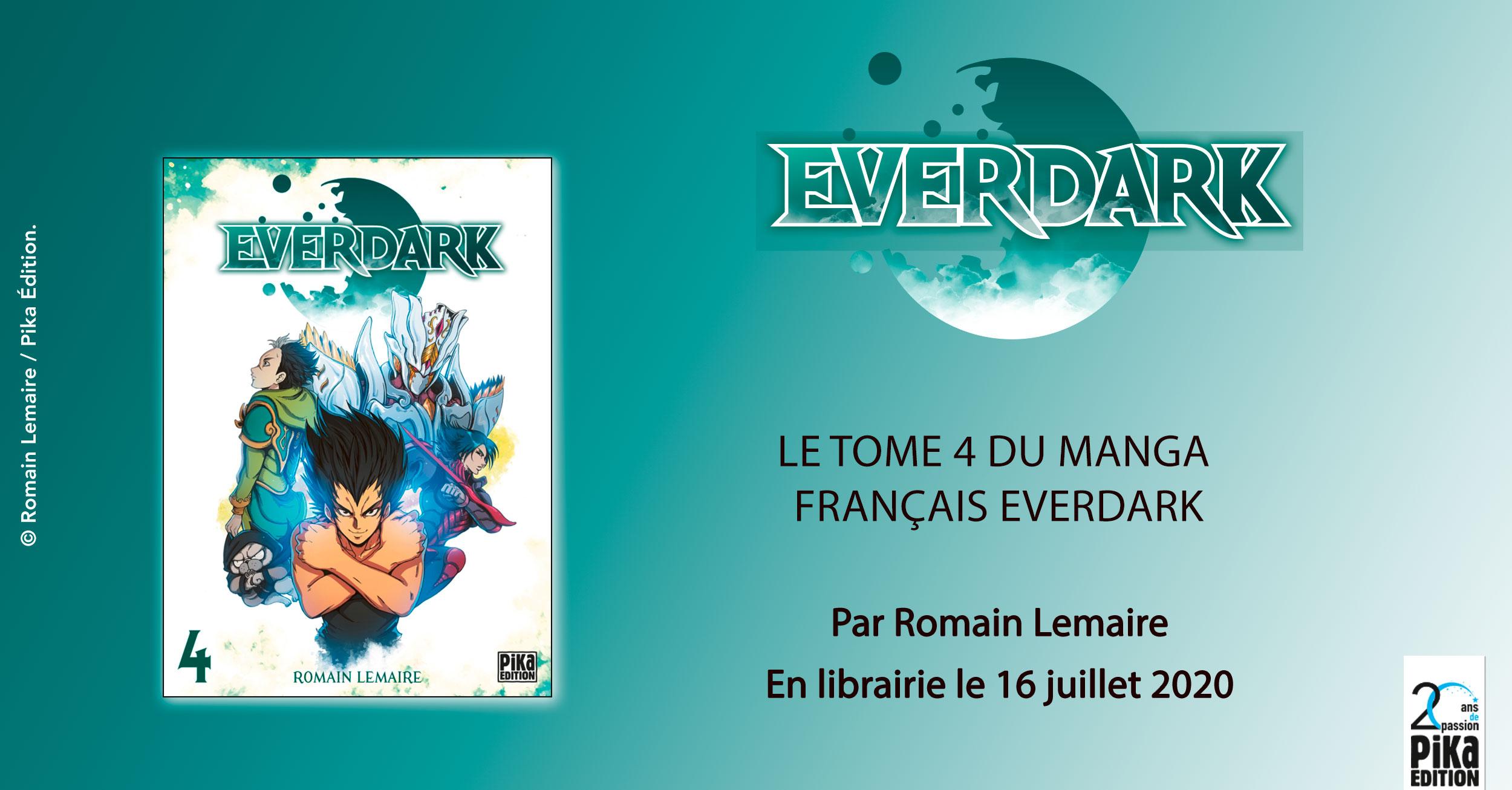 Everdark tome 4, dans toutes les librairies dès le 16 juillet
