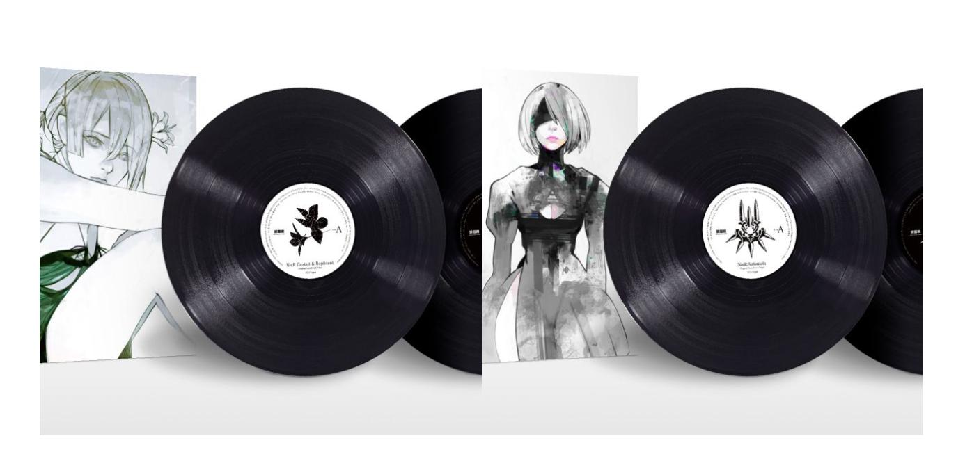 NieR et NieR: Automata – Box coffret vinyle