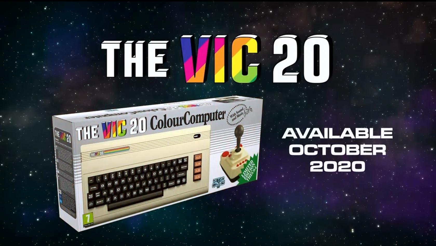 L'ordinateur personnel THEVIC20 fait don grand retour !