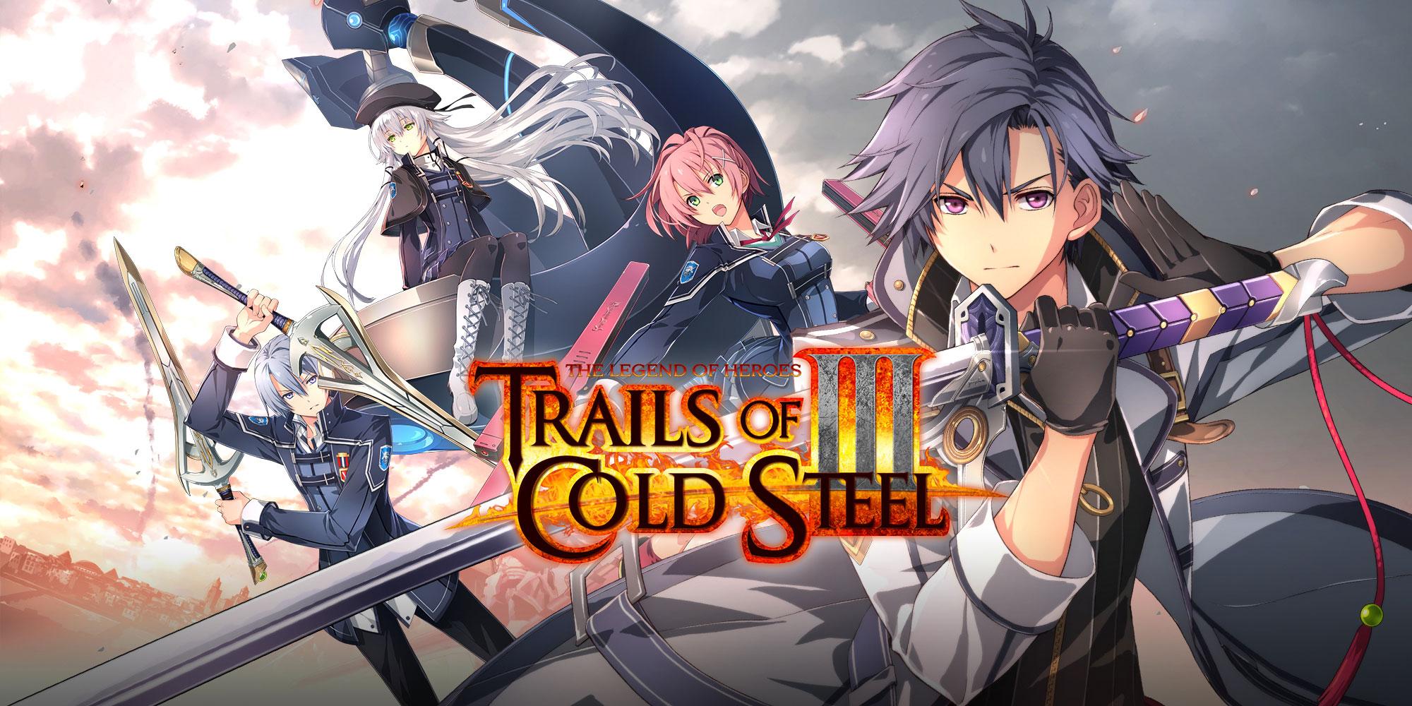 Trails of Cold Steel III est maintenant dispo !