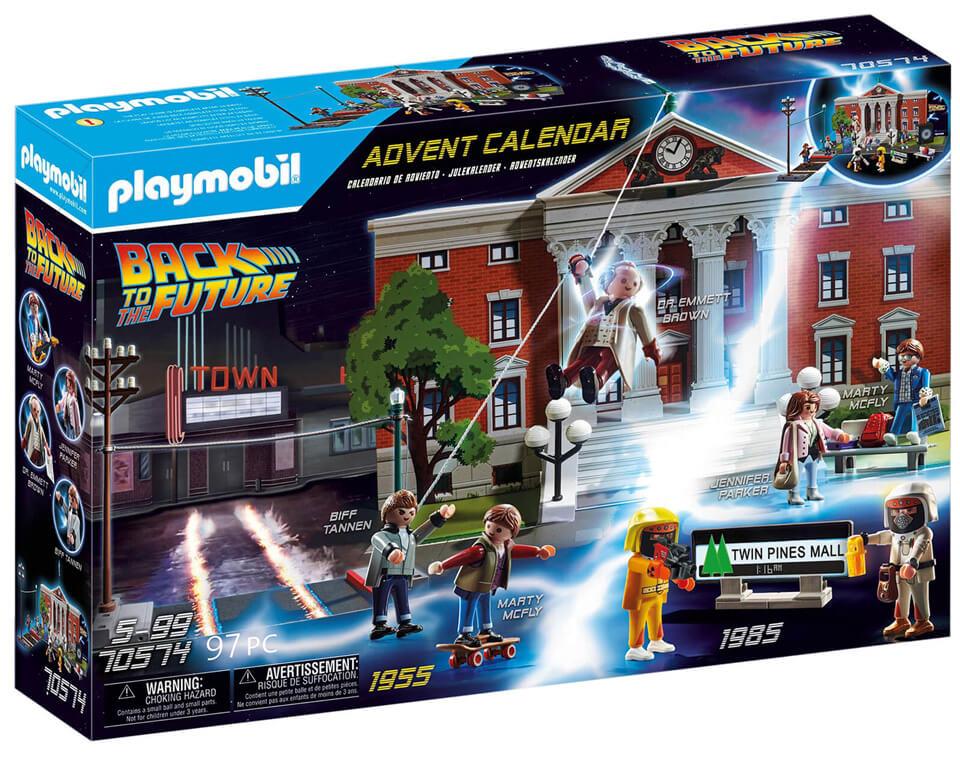 Playmobil Retour vers le Futur – Calendrier de l'Avent (2020