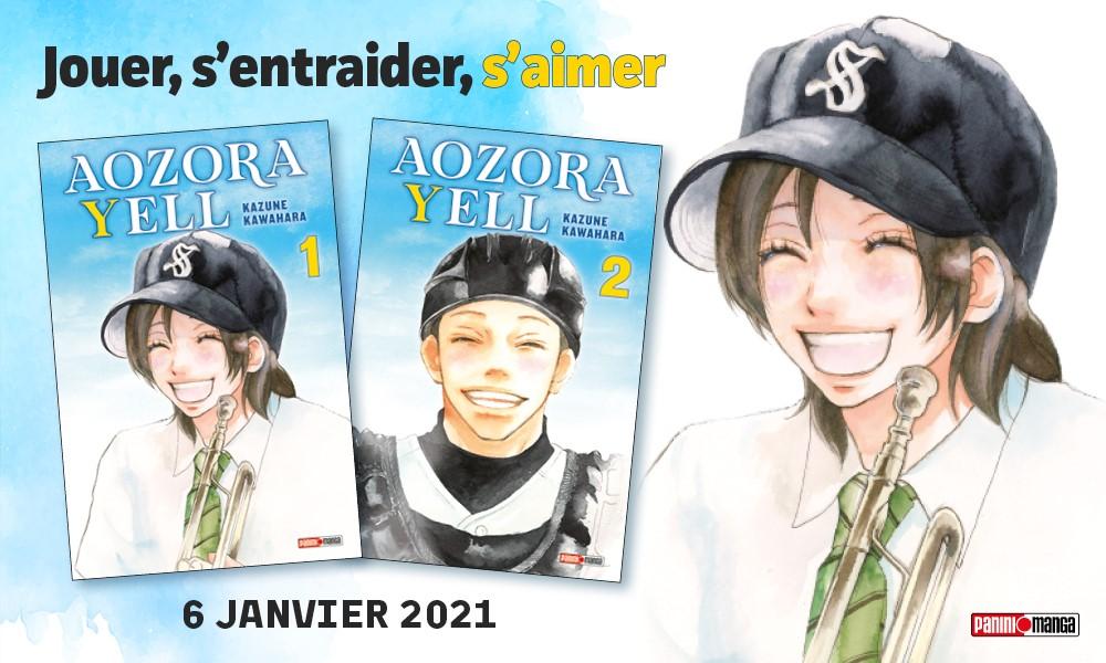 Aozora Yell – Un manga basé sur la motivation, l'apprentissage et la persévérance!