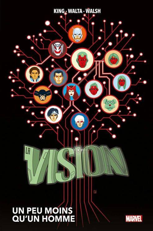 Sélection de comics sur Vision et de la Sorcière Rouge !