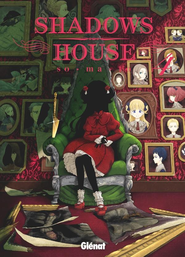 Extrait du manga Shadows House – Tome 4
