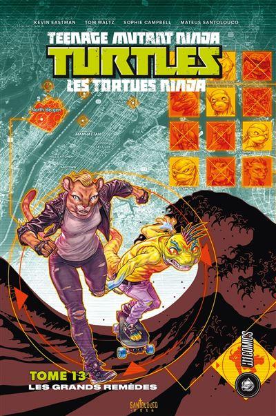 Avis comics - Teenage Mutant Ninja Turtles