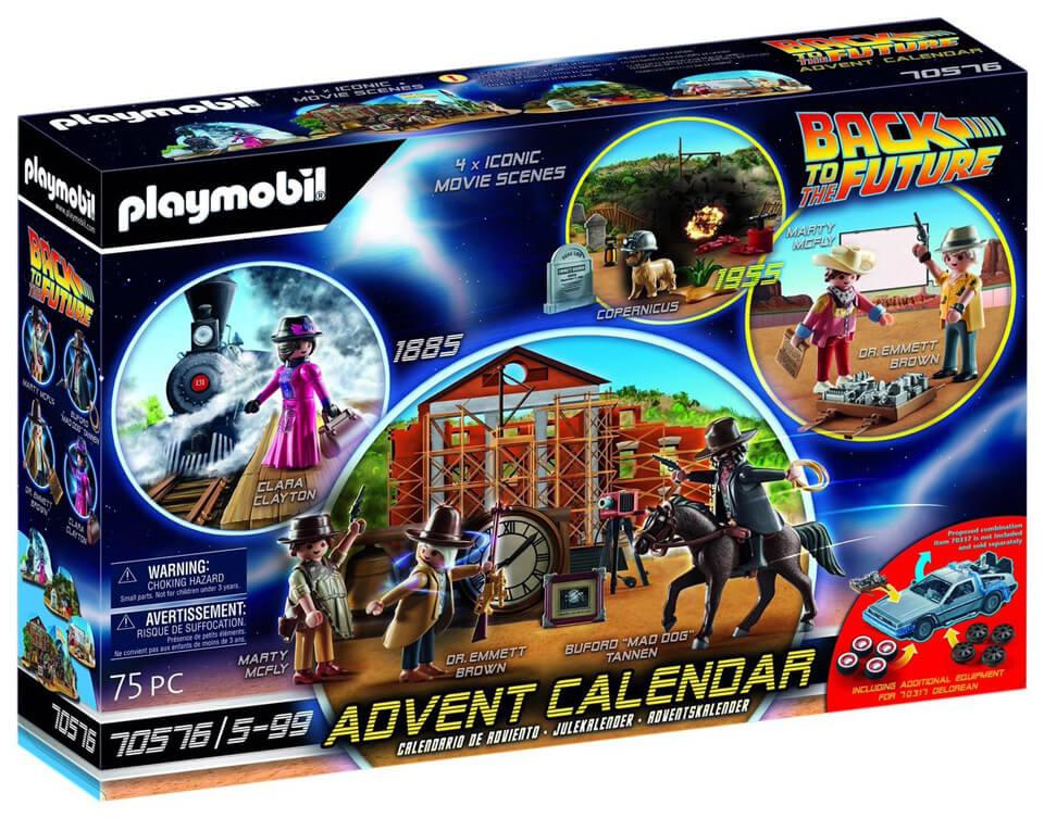 Calendrier De Lavent Playmobil 2022 Playmobil Retour vers le Futur III – Calendrier de l'Avent (2021